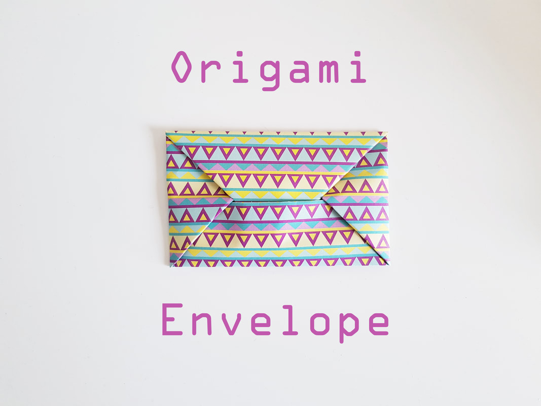 How to Make an Easy Origami Envelope | 800x1067